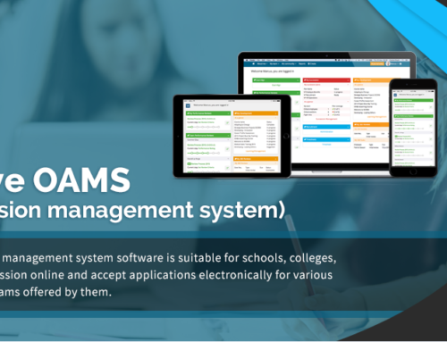 Online application software for admission